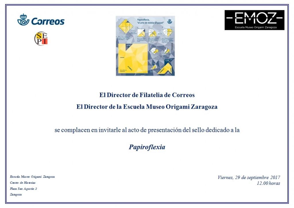 Invitacion Presentacion sello